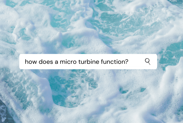 how does a micro turbine function?